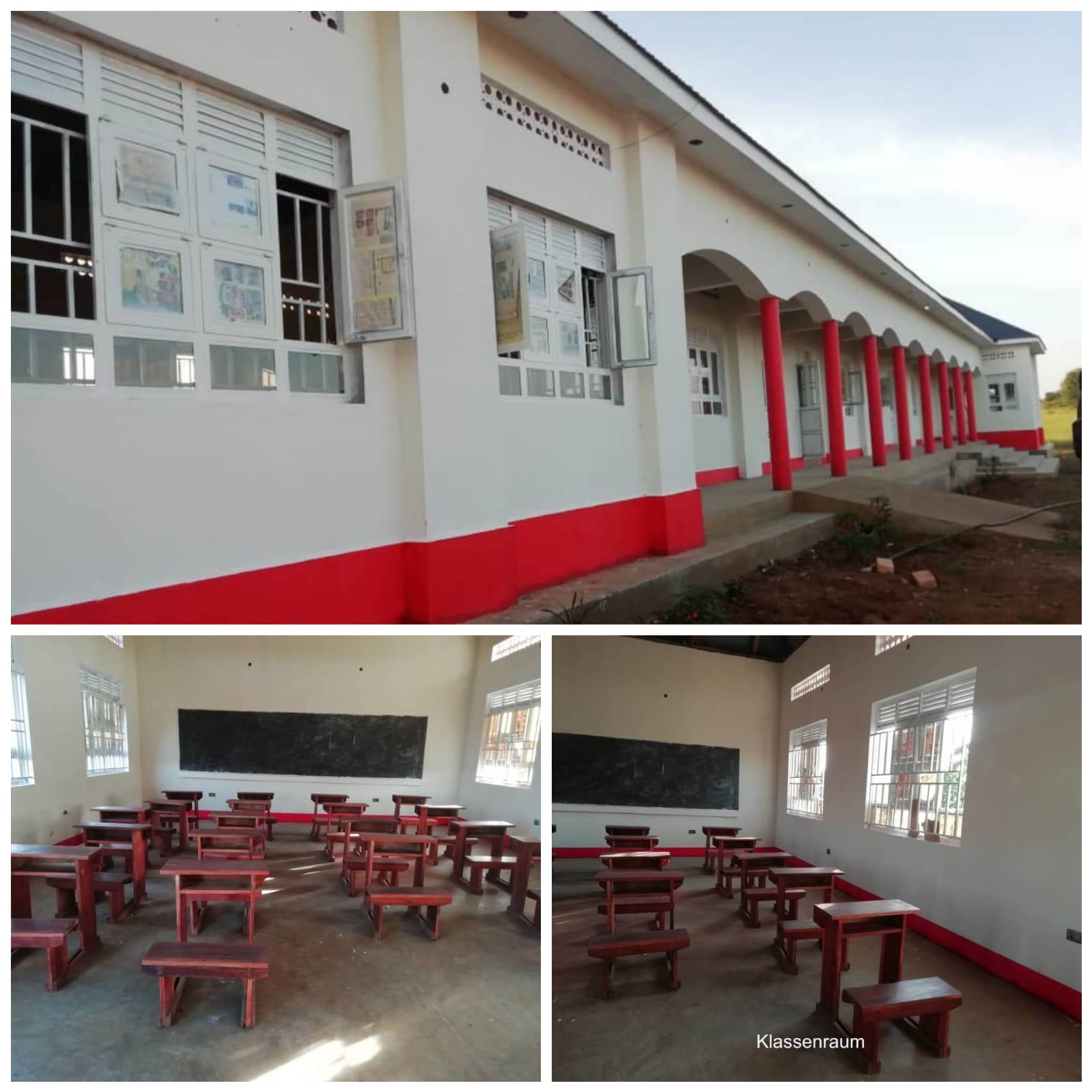 Grundschule und Klassenräume